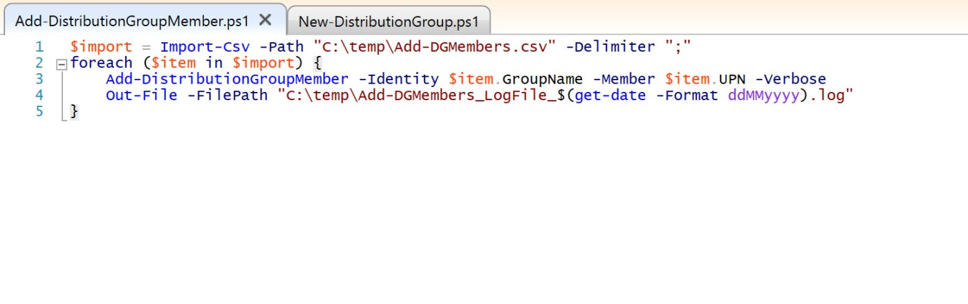 Import distribution groups to Office 365: Exchange Online